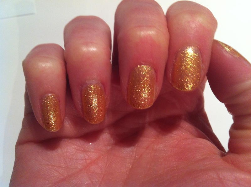 OY-Another Polish Joke - OPI & No Chips Ahead Topcoat Essie!