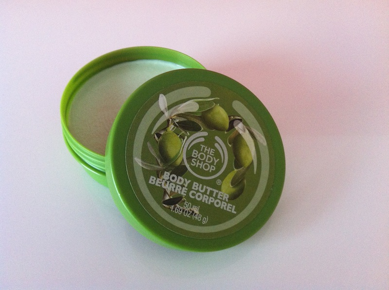 Olive Body Butter - The Body Shop - Review!