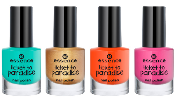 Persbericht: Essence - Trend Edition - Ticket to Paradise!