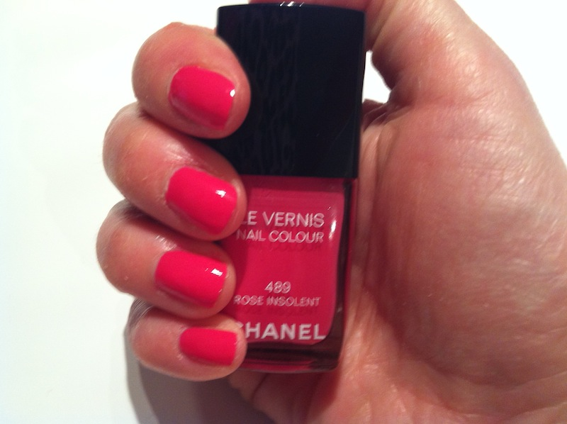 NOTD - Chanel - Rose Insolent!
