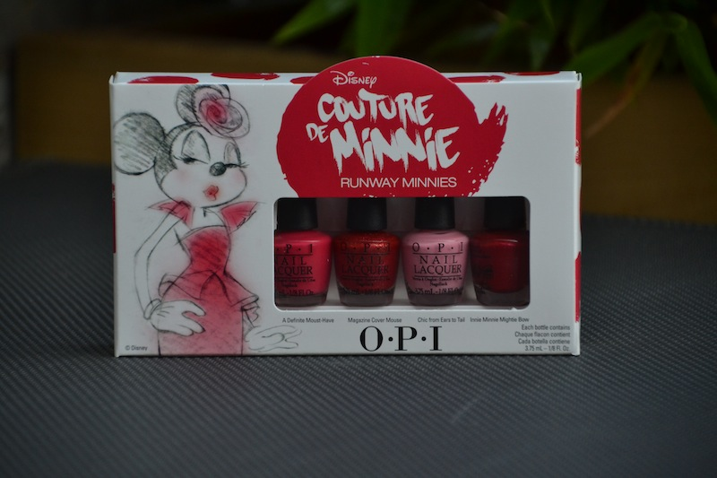 opi couture de minnie