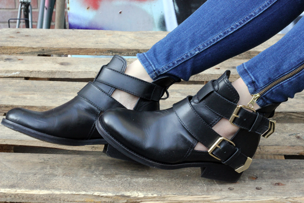 Hot or Not? Cut Out Boots