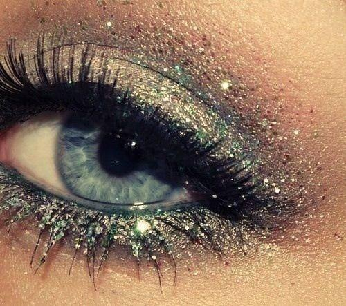 Eye make-up feestlook 3