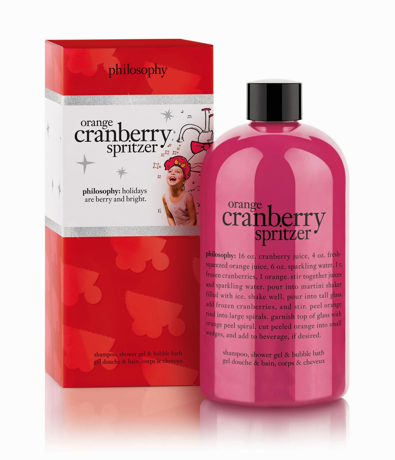 Philosophy – Orange Cranberry Spritzer Shampoo, Shower Gel & Bubble ...