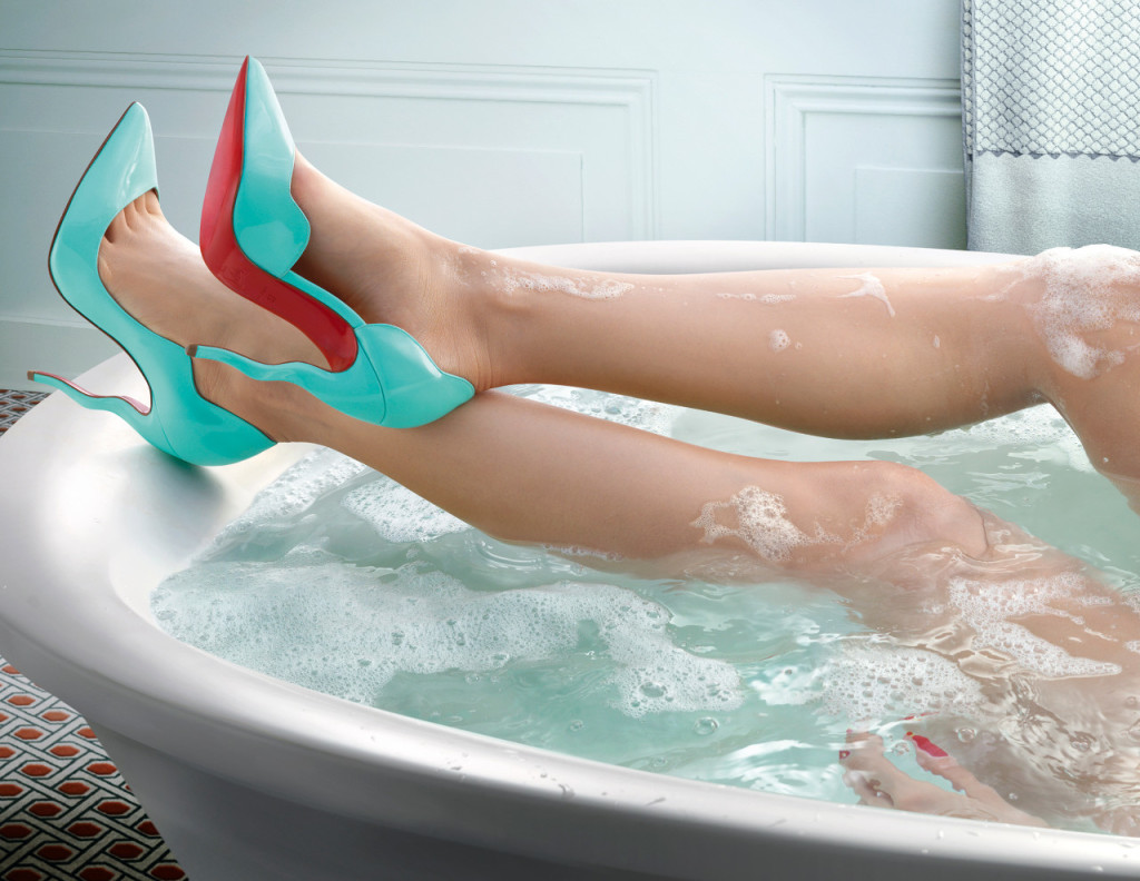 Louboutin Spring:Summer 2015 campagnefoto's 3