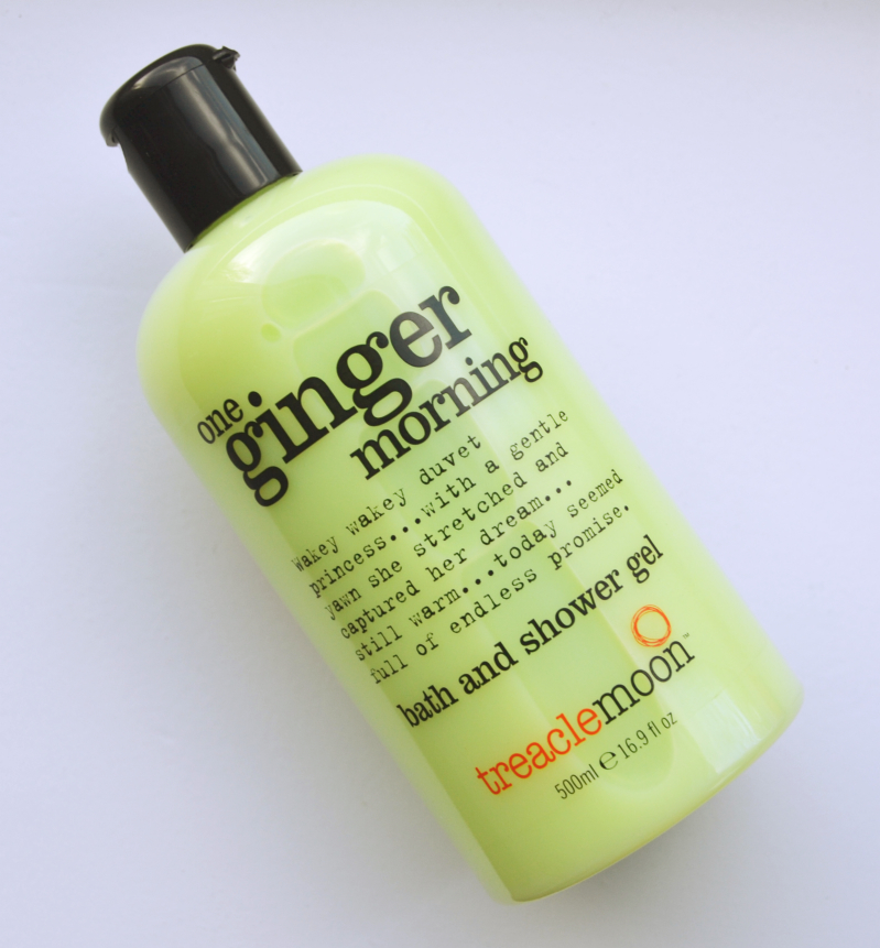 Treacle Moon - One Ginger Morning + The Raspberry Kiss - Bath & Douche Gel Review