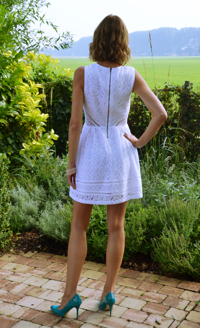 Outfit - white & Lace - Superdry