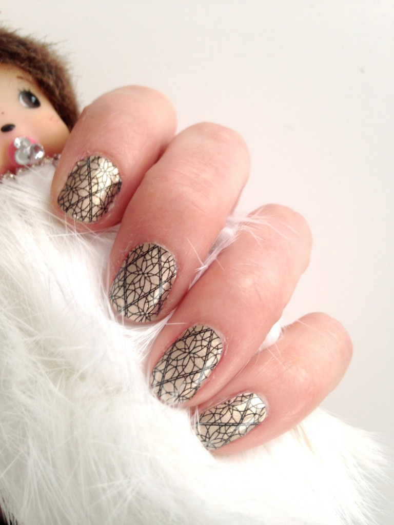 Incoco Golden Lattice Nailstickers 02