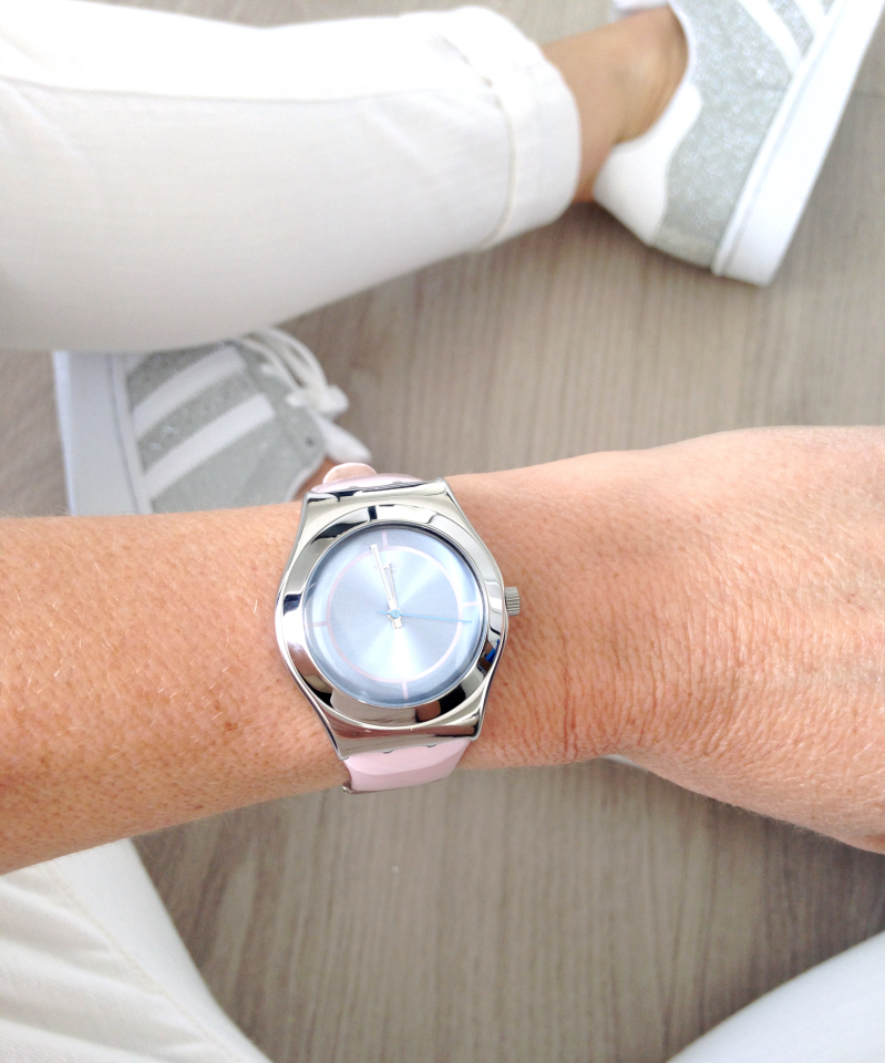 Swatch horloge outfit