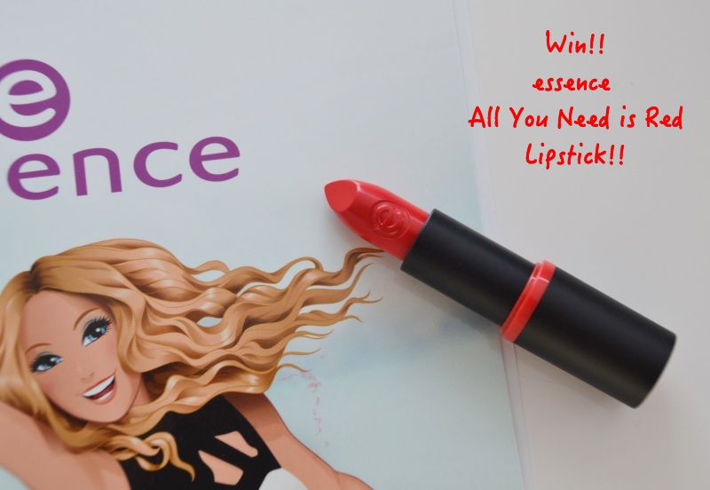 Belgian National Day essence lipstick winactie