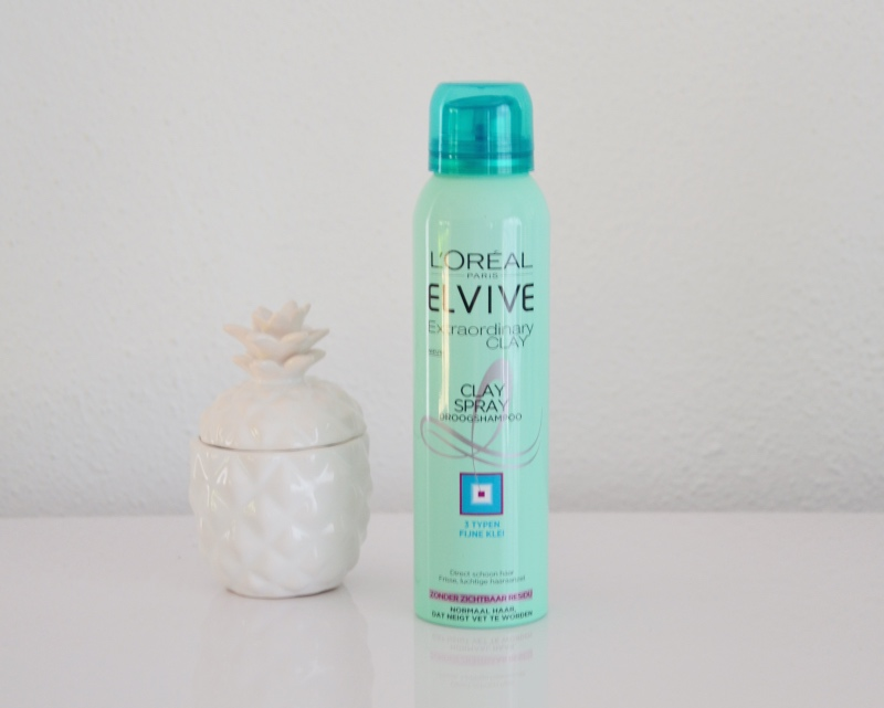 Elvive extraordinary clay droogshampoo