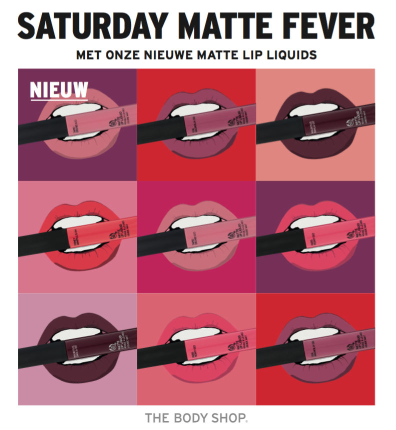 The Body Shop - Saturday Matte Fever