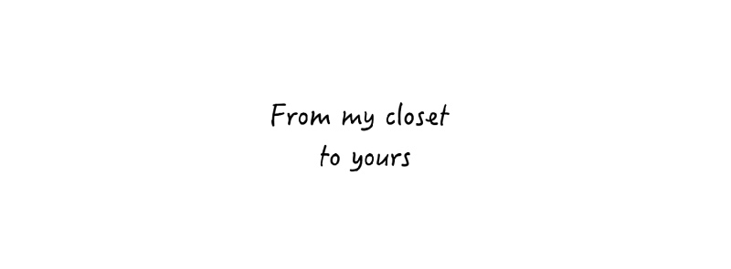 From My Closet to Yours FB-Pagina