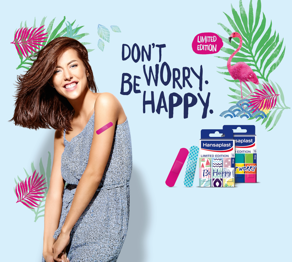 Hansaplast-Limited Edition-Don_t-Worry-Be-Happy-Mood