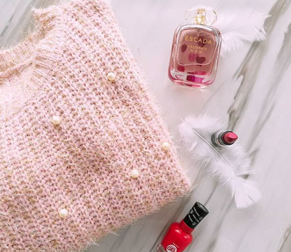 Outfit - Cosy Pink Mohair Sweater