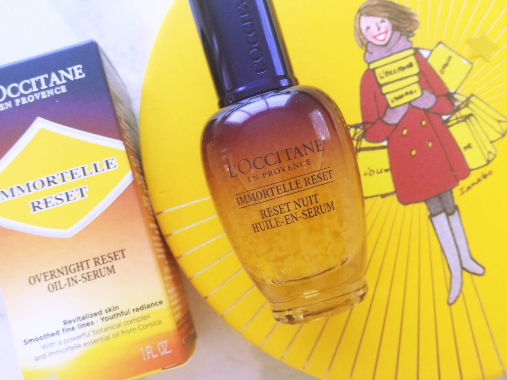 L'Occitane Immortelle Overnight Reset Oil-in-Serum